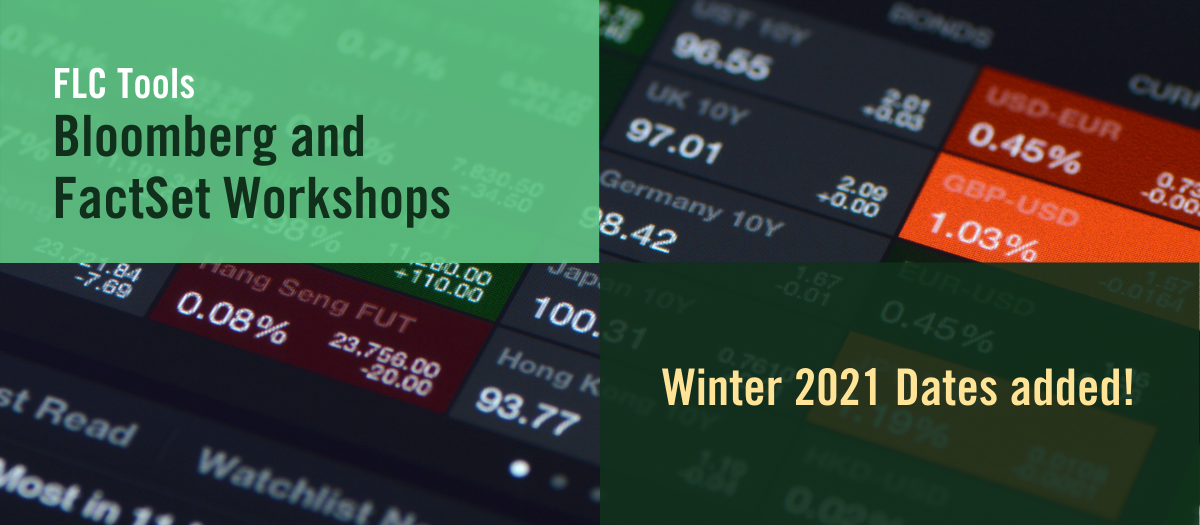 Winter 2021 FLC Tools workshops now available