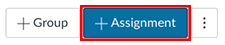 Add Assignment button